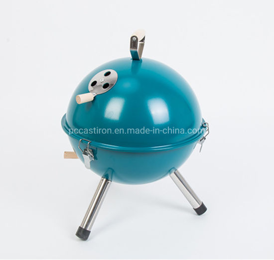 Outdoor Camping BBQ Stove with Wooden Handle