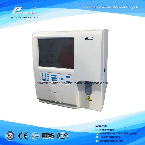 china ce approved clinic automatic 3 part hematology analyzer