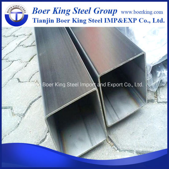 ASTM A53 A36 Ss400 St33 DIN 1626 Pre-Galvanized Square Hollow Section Steel Pipe