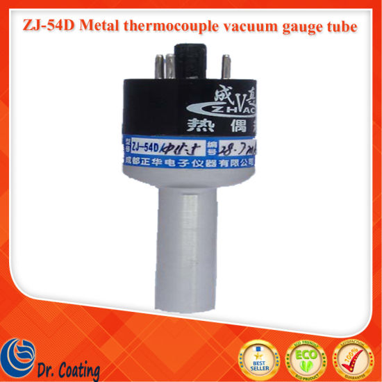 China Zhvac Zj 54D Metal Thermocouple Vacuum Gauge Tube For Coating Machine Low Measurement