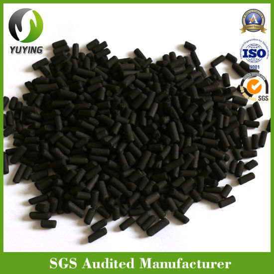 3.0/4.0mm Iodine 1000 Coal Pellet Activated Carbon for Harmful Gas Filtration/Mask