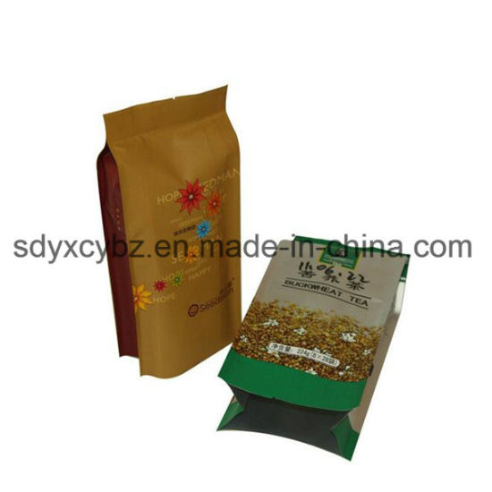 China Supplier and Snack Food Side Gusset Bag/Plastic Side Gusset Packing pictures & photos