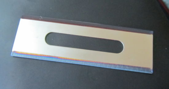 Slotted Blades Coated for Cutting Film