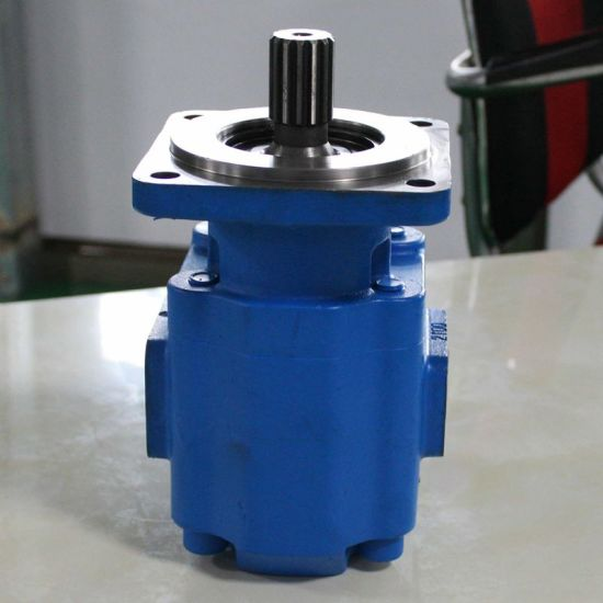 Jhp2100 Hydraulic Gear Pump Used in China Mini Wheel Loaders, Original  Wheel Loader Parts