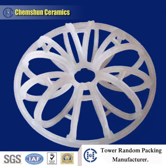Outstanding Performance Plastic Rosette Ring Random Packing pictures & photos