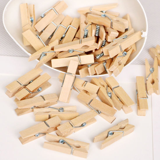 Hot Selling Eco-Friendly Clothes Pin Clothing Clip, Wholesale Photo/Paper Wooden Clip