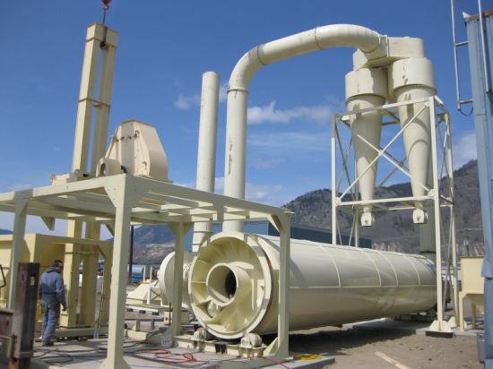 Industry Direct Heat Type Rotary Drum Dryer for Fertilizer