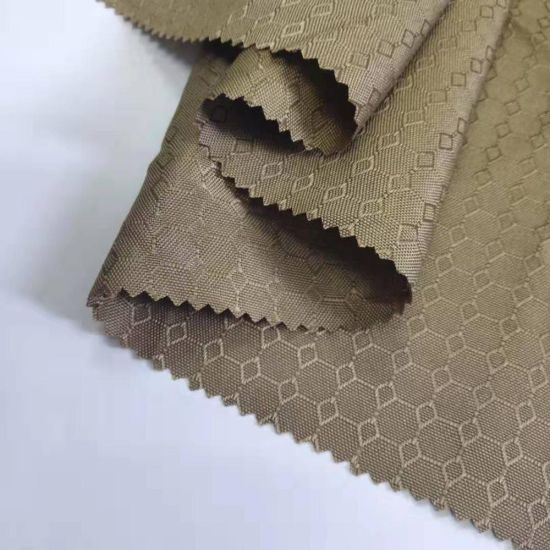 PU/PA/PVC Coated Plain Waterproof Nylon Ripstop Oxford Fabric with TPU for Bag or Tent