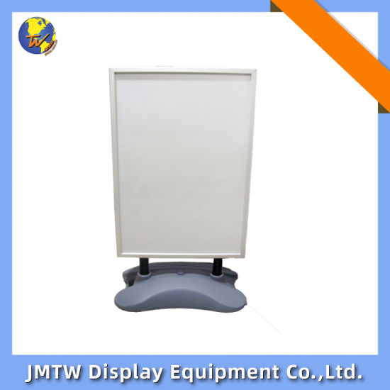 High Quality Waterbase Double Sides Aluminum Snap Outdoor Display Stand