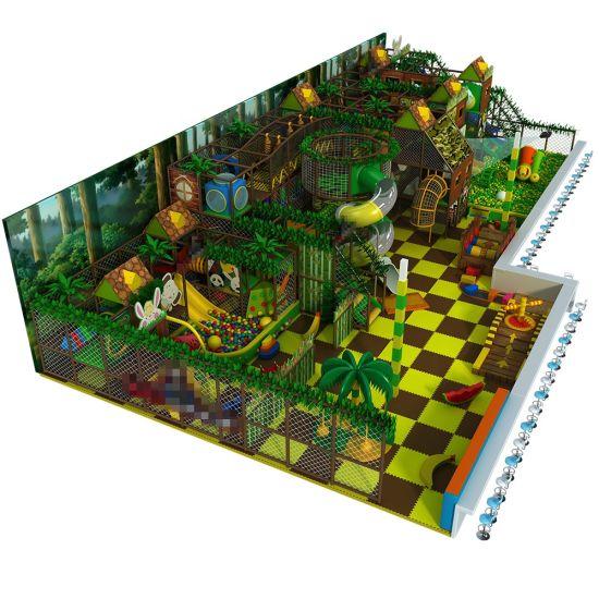 Forest Style Kids Children Soft Play Indoor Playground Equipment