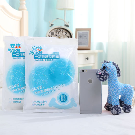Travel Disposable Non Woven Bed Sheet Portable Travel Nursing Articles Non Woven Beauty Bed Sheet pictures & photos