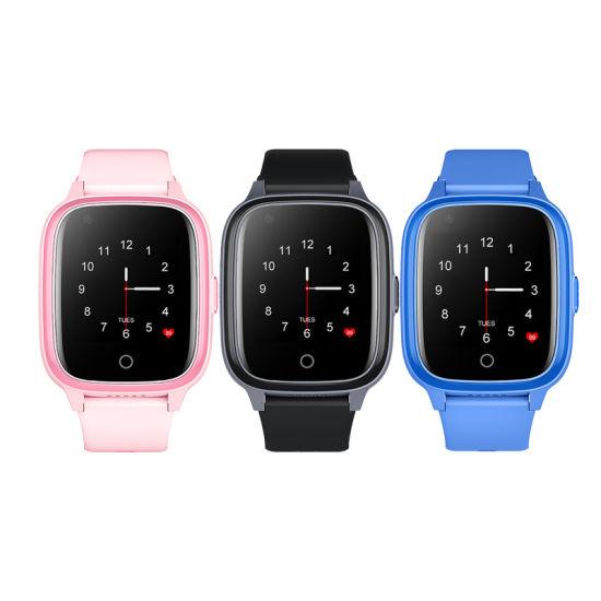 2021 Wonlex Kt17 4G WiFi GPS Tracker Kids Phone Watch Sos Call Smart Phone Watch