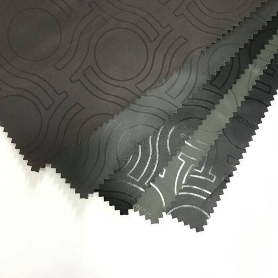 Polyester Taffeta Fabric with Sliver Coated for Car Cover