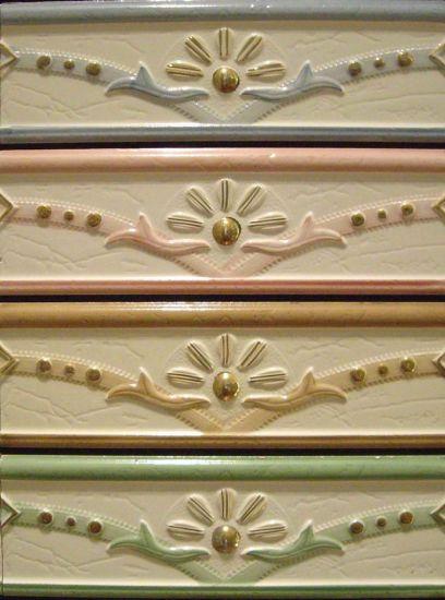Ceramic Embossing Listello Border Tile 11