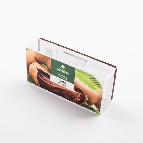 Custom Printing Clear Acetate Folding Plastic Box for Dry Fruit