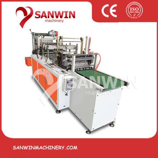 Full Automatic PE Plastic Glove Making Machine with Auto Tear off Devicce