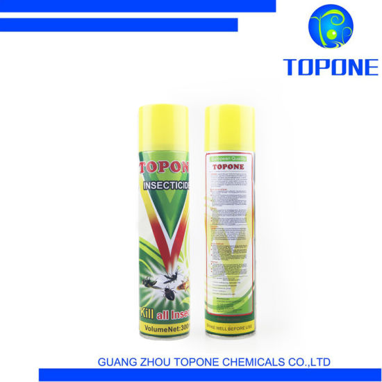 Topone 2021 Hot Sell High Effective Aerosol Insecticide Spray Environmental and Non-Poisonous Free Sample