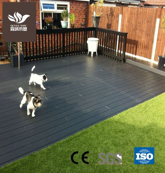 Outdoor WPC Wood Plastic Composite Decking for Terrace Rot Resistant Decking Board