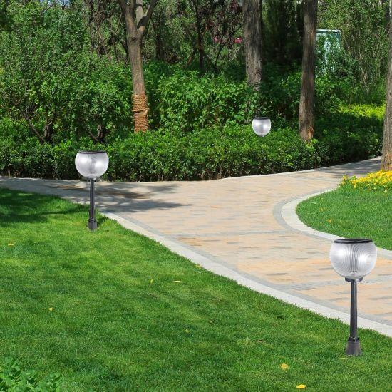 Waterproof IP65 Outdoor Pathway European Style Decoration Solar Lawn Garden Landscape Lighting