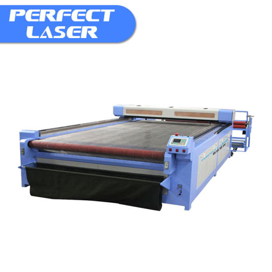 Auto Feeding Computerized Textile Leather Fabric Laser Cutting Machine Price pictures & photos