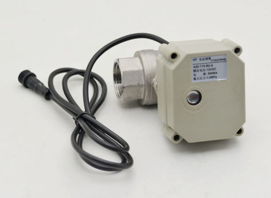 Wireless Water Leak Detection Detector Controller Solution with Motorized Valve pictures & photos