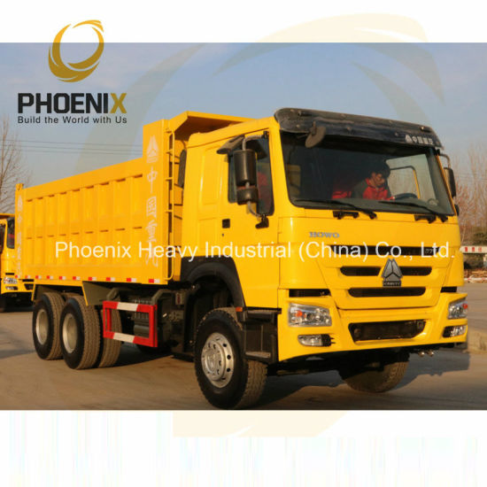 371HP Excellent Condition Used Sinotruck HOWO Dump Truck 6X4 Used Tipper Truck for Africa