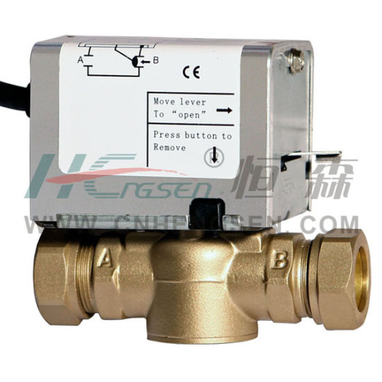 China D F-03 Compression Zone Valve/2 Port Motorized Valve/2 Way ...