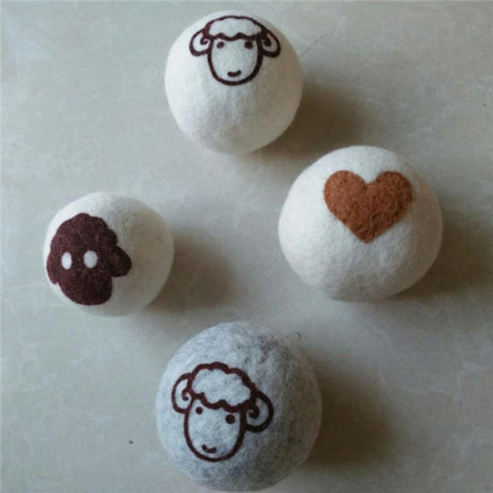 Nature White Wool Dryer Balls with Cotton Bag pictures & photos