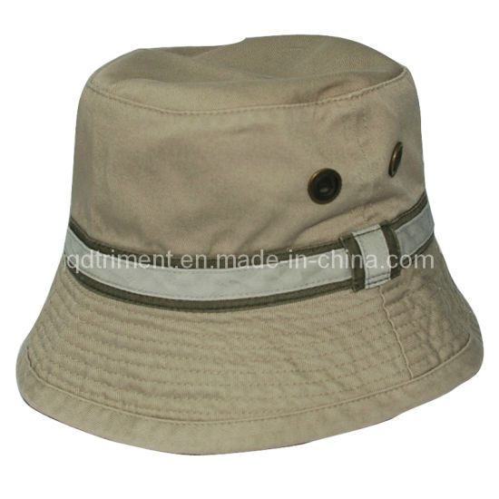 3dd97568f0ea9 Metal Eyelets Cotton Twill Leisure Fishing Bucket Hat (TMBH9463) pictures    photos