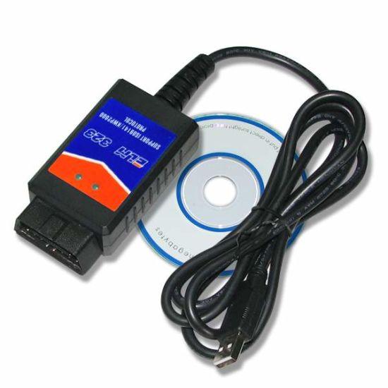 USB ELM323 Diagnostic Interface