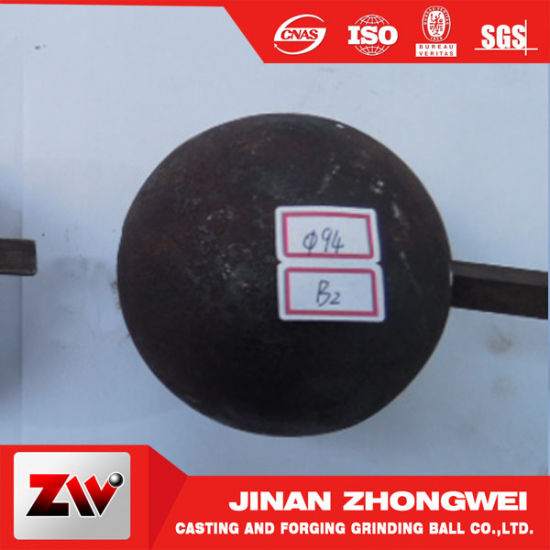 Hot Sale Hot Rolling Ball and Forged Ball for Ball Mill in Shandong pictures & photos