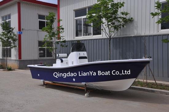 Liya 5.8m China Fiberglass Fishing Boat Center Console Panga Boat