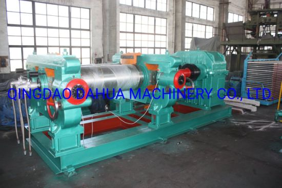 Double Axle Output Heavy Duty 550 Rubber Mixing Mill Machine