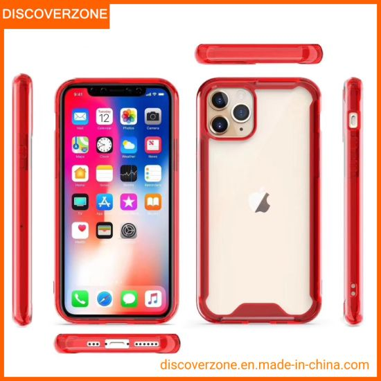 China High Quality 1.5mm iPhone11 Mobile Phone Case Anti-Shock PC Cell Phone Cover for New iPhone