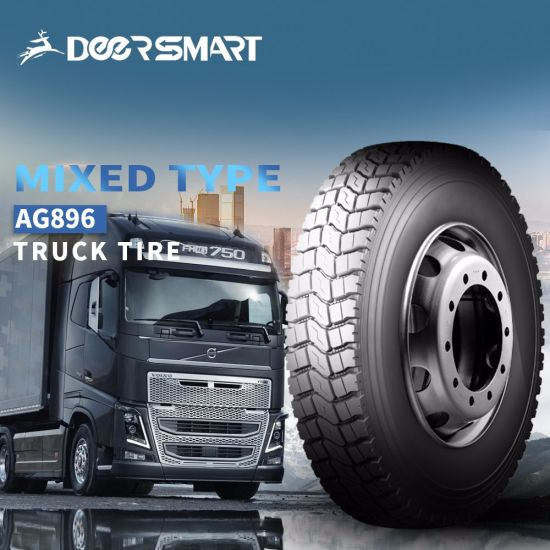 TBR Tyres Excellent Heavy Duty Dump Truck Tires Engineering Load Mine Series Tires with Good Load Capacity AG896 6.50r16 7.00r16 7.50r16lt 8.25r16lt