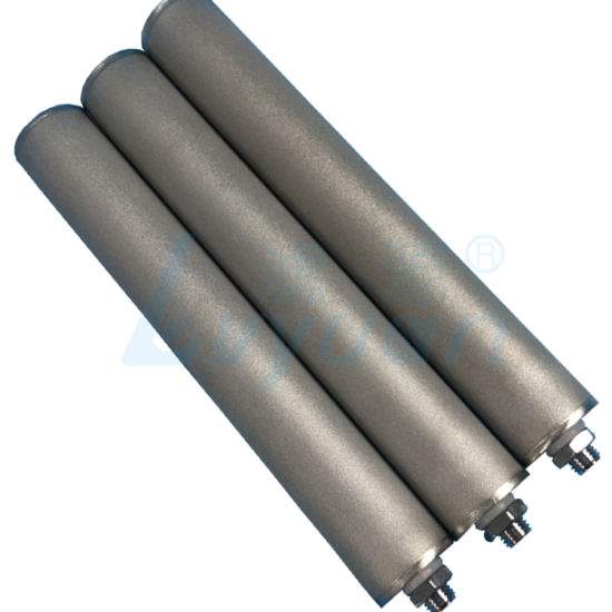 10 20 30 40 Inch Sintered Metal Filter/Stainless Steel Filter Element for Filtration