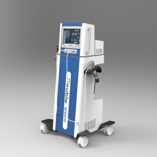 Dual Acoustic Wave Electromagnetic & Pneumatic Shockwave ED Therapy Device Machine