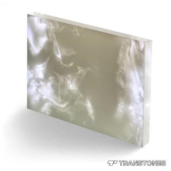 Bespoke Transparent Alabaster Stone for Home Decoration