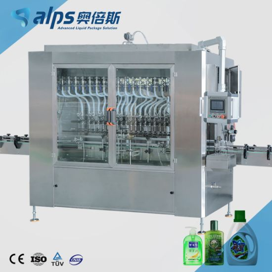 Motor Oil / Engine Oil Can Filling Capping Machine
