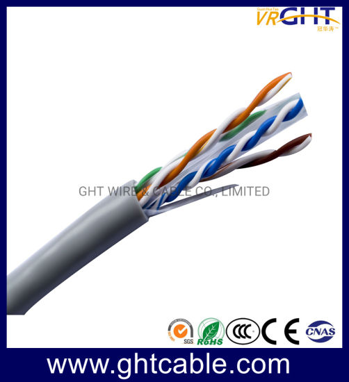 Solid Bare Copper UTP CAT6 LAN Cable Network Cable