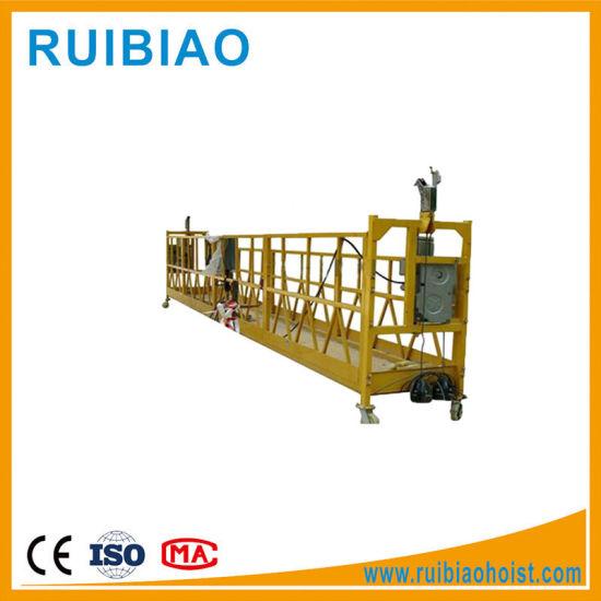 Zlp800 Aluminum Suspended Working Platform / Electric Suspended Cradle / Gondola Working Platform