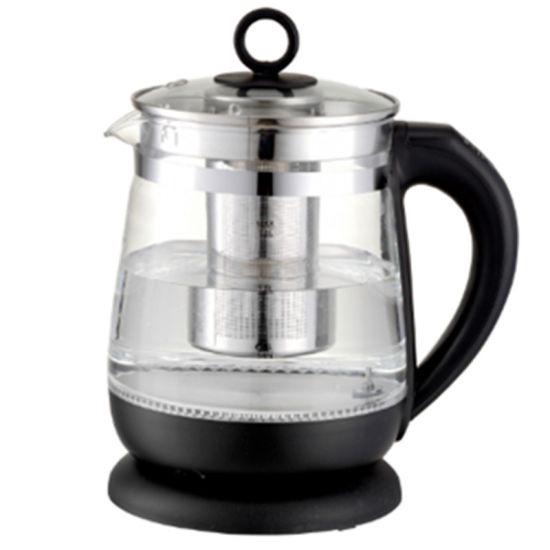 1.5 Liter 2200W Keep Warm Electric Glass Kettle with Tea Filter