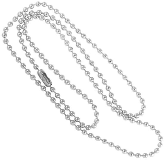 Silver Tone Ball Chain Bead Chain Stainless Steel Chain pictures & photos