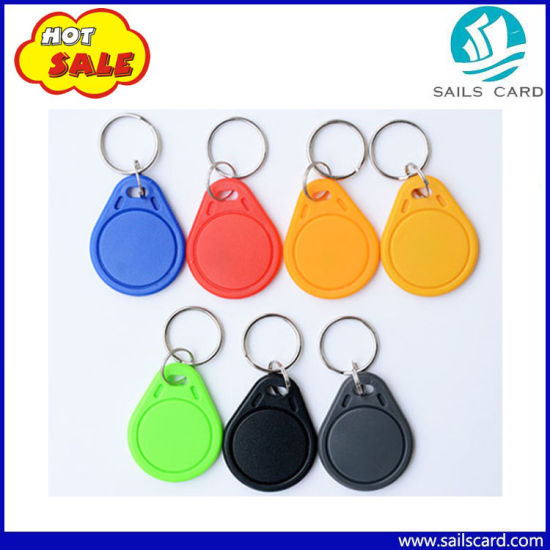 13.56MHz RFID Key FOB Keychain for Access Control pictures & photos