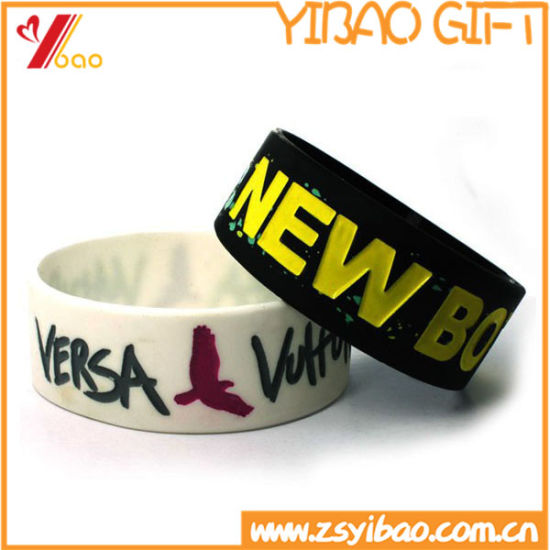 Newest Fashion Silicone Wristband for Gift (YB-LY-WR-48) pictures & photos