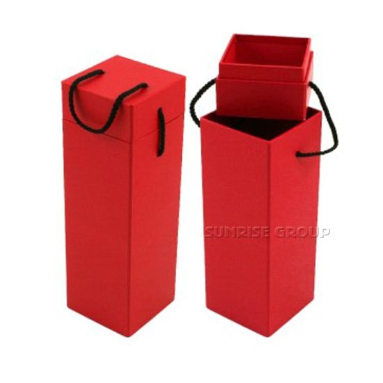 High Quality Custom Foldable Display Packaging Wine Box pictures & photos
