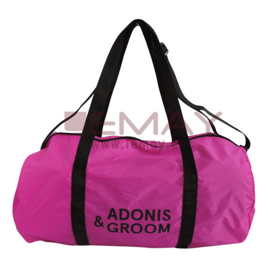 77ba73ef37e71f Promotional 210d Polyester Round Sport Duffle Bag pictures & photos