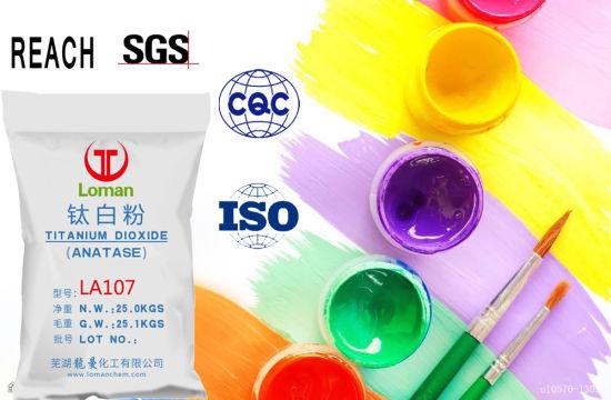 China Raw Material Titanium Dioxide Grade (TiO2) Rubber/Artificial ...
