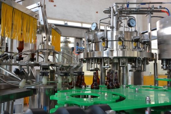 Complete Beer Making and Packing Line pictures & photos
