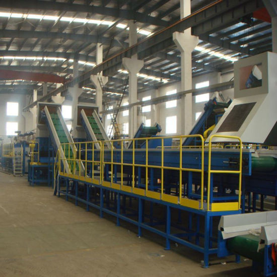 Plastic Waste Bottle Recycling Machine